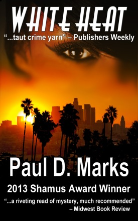 White Heat cover -- Paul D Marks -- D26--small