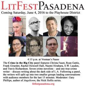 LitFest Pasadena Panel